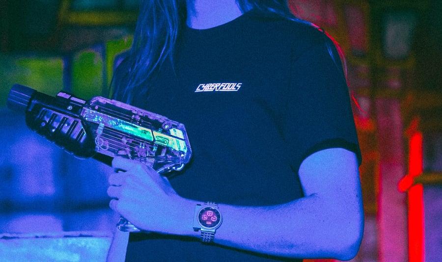 Image of CYBER FOOLS Crew Shirt