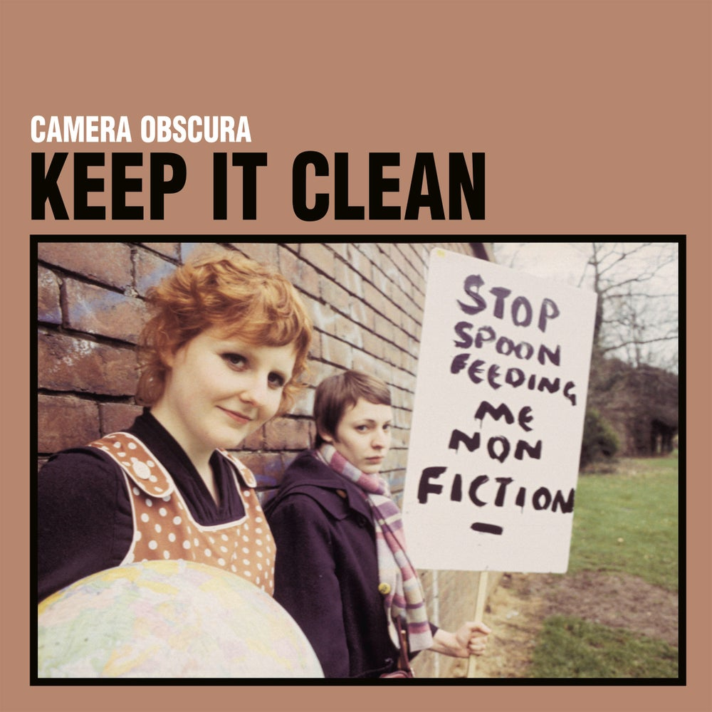 "Image of CAMERA OBSCURA - Keep It Clean (Limited clear 7"" with MP3s)"