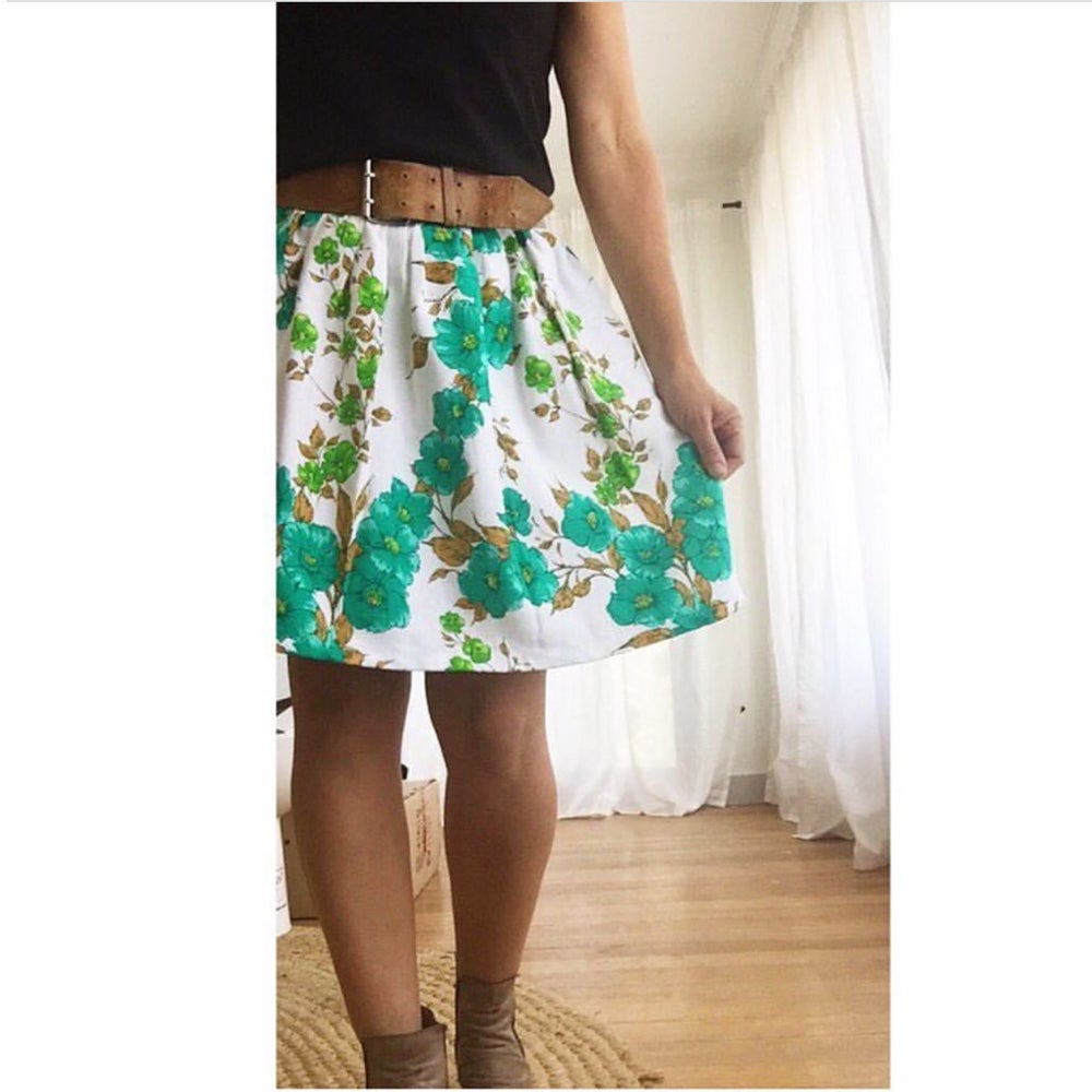 Image of Laura Skirt - choose your vintage fabric