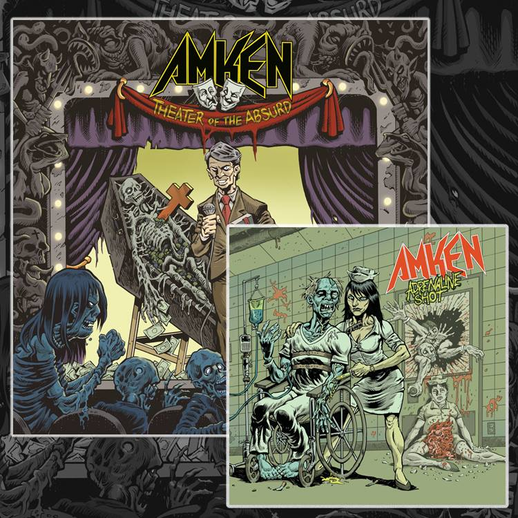 "Image of AMKEN ""THEATER OF THE ABSURD""-""ADRENALINE SHOT"" CD BUNDLE"
