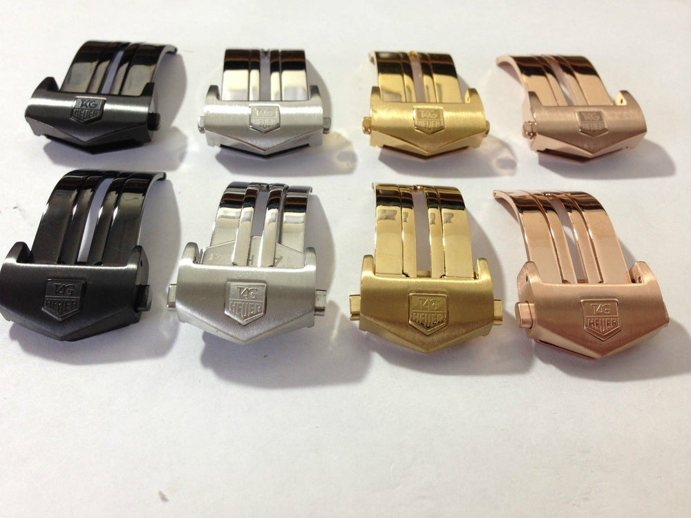 Image of DEPLOYMENT BUCKLES FOR TAG HEUER,SIZES 18MM-20MM-TOP QUALITY