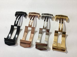 Image of DEPLOYMENT BUCKLES FOR TAG HEUER,SIZE 22MM,4 X COLORS-NEW.