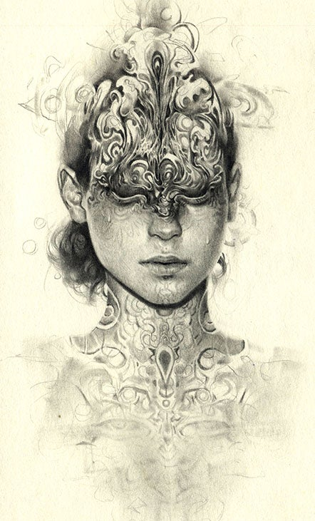 Image of Eyelids Limited Edition Print by Miles Johnston