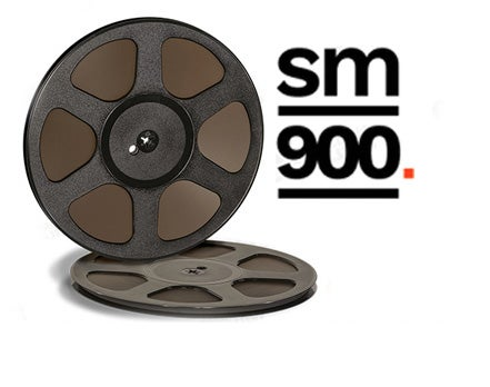 "Image of SM900 1/4"" X2500' 10.5"" Trident Plastic Reel Hinged Box"