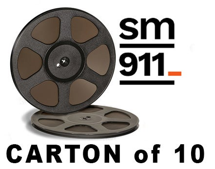 "Image of CARTON of SM911 1/4"" X2500' 10.5"" Trident Plastic Reel Hinged Box"