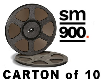 "Image of CARTON of SM900 1/4"" X2500' 10.5"" Trident Plastic Reel Hinged Box"