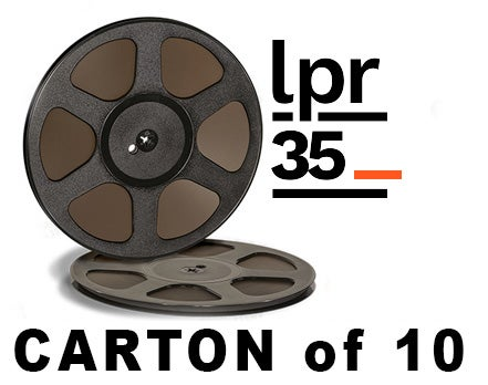"Image of CARTON of LPR35 1/4"" X3600' 10.5"" Trident Plastic Reel Hinged Box"