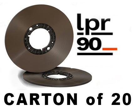 "Image of CARTON of LPR90 1/4"" X3600' 10.5"" Hub ECO Box"
