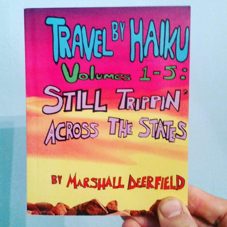 Image of Travel By Haiku, poetry collection (2016)