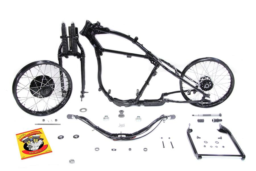 Give It Full Throttle — Replica Harley Davidson Flathead