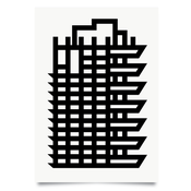 Image of Barbican Estate Tower print