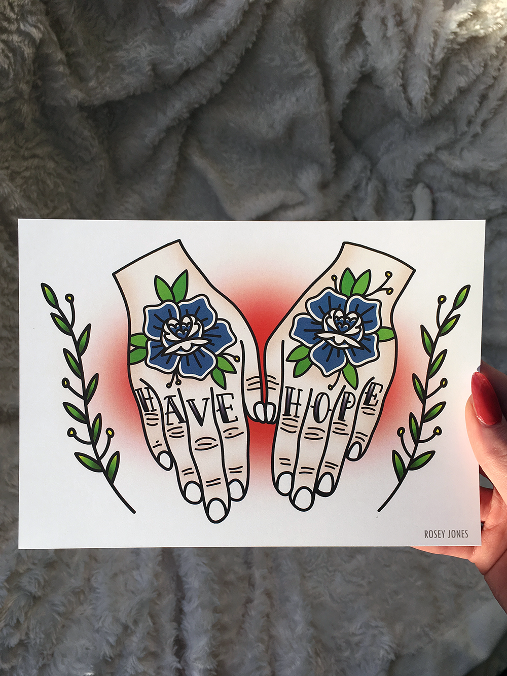 Image of Print Hands - Have Hope I