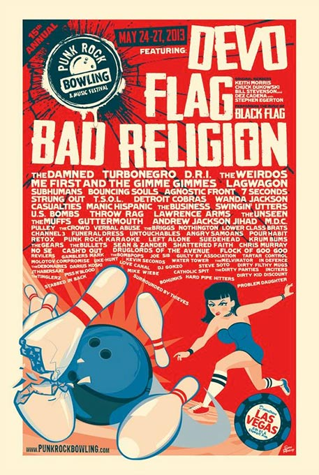 Image of Punk Rock Bowling 2013