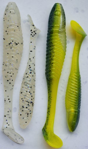 Image of 5 inch Galaxies paddle tails (6 pack)