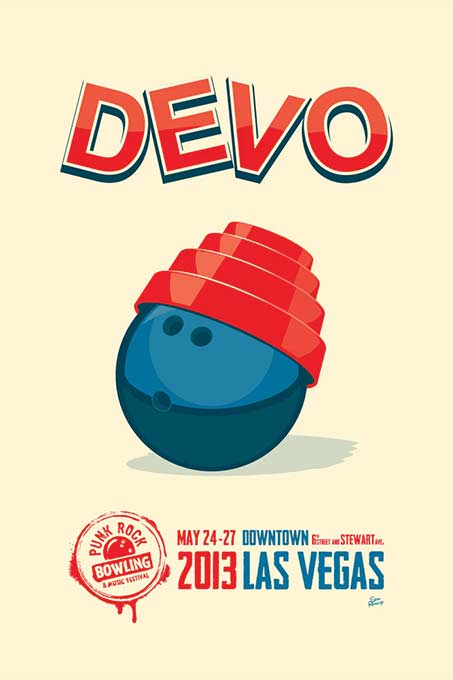 Image of DEVO @ Punk Rock Bowling 2013