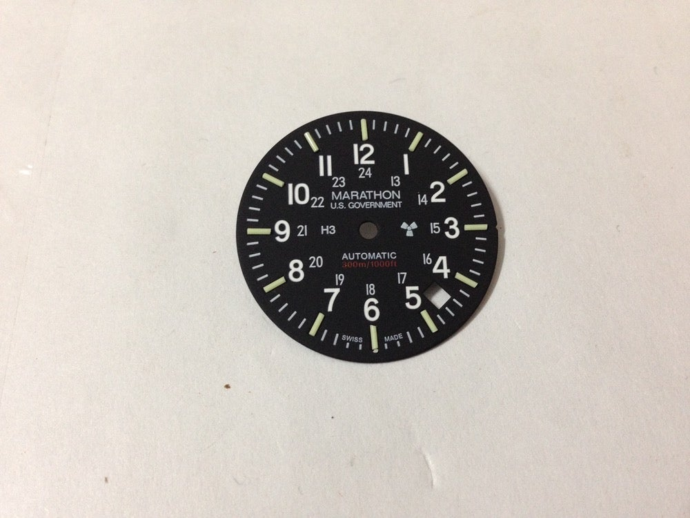 Image of MARATHON GSAR DIAL.NEW.