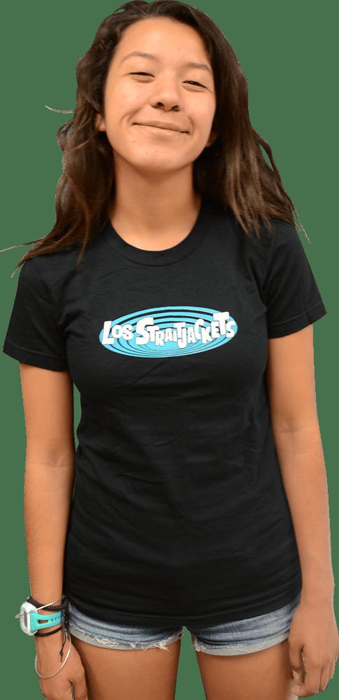 Image of LOS STRAITJACKETS LADIES LOGO T-SHIRT