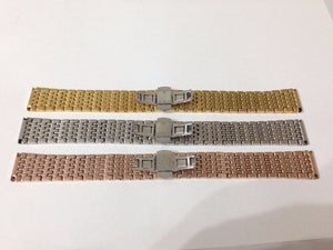 Image of BEAUTIFUL RICE BEAD WATCH STRAPS,12MM,14MM,16MM,18MM,20MM.FOR OMEGA,LONGINES ETC