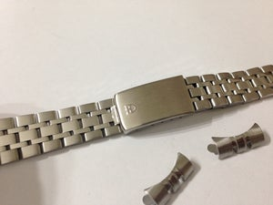 Image of TUDOR 17MM STAINLESS STEEL UNISEX WATCH STRAP.(NS.18)