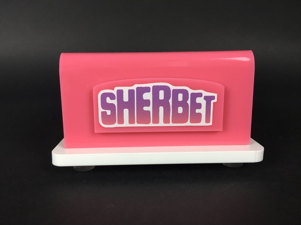 Image of Sherbet stand signed #1