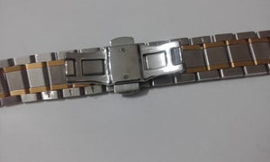 Image of LONGINES 2/TONE S/STEEL/GOLD GENTS WATCH STRAP,19MM,(NS-45)