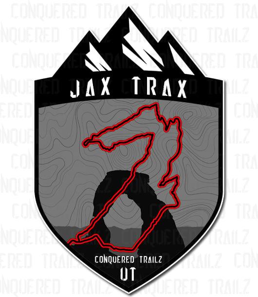 """Image of """"Jax Trax"""" Trail Badge"""
