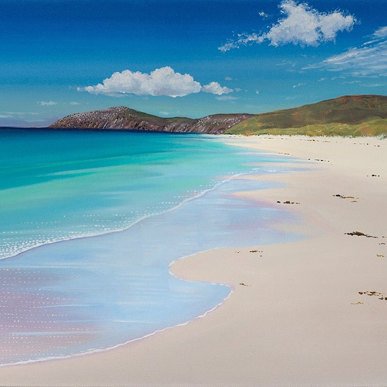 Image of Barra Traigh Eais small print
