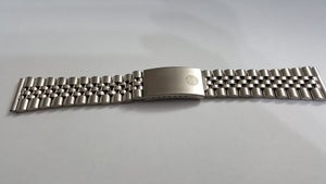 Image of NEW EDOX 22MM STAINLESS STEEL REPLACEMENT GENTS WATCH STRAP,
