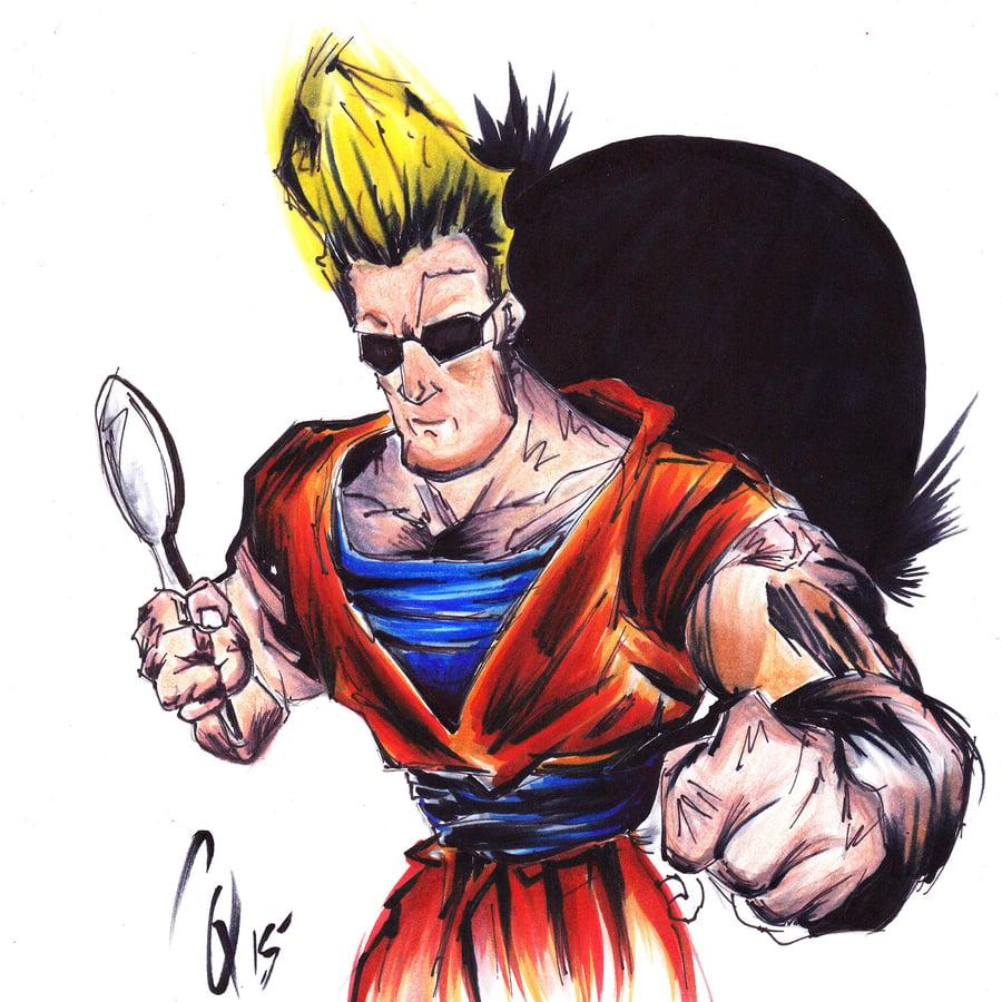 """Image of """"Johnny's Power Level"""" ORIGINAL"""