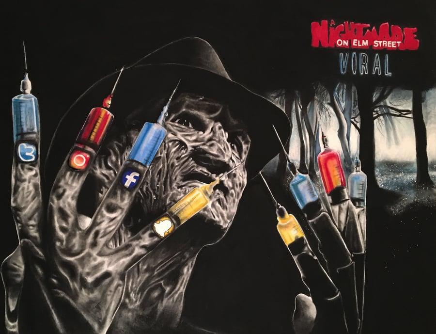 "Image of ""Nightmare on Elm Street: Viral"" ORIGINAL"