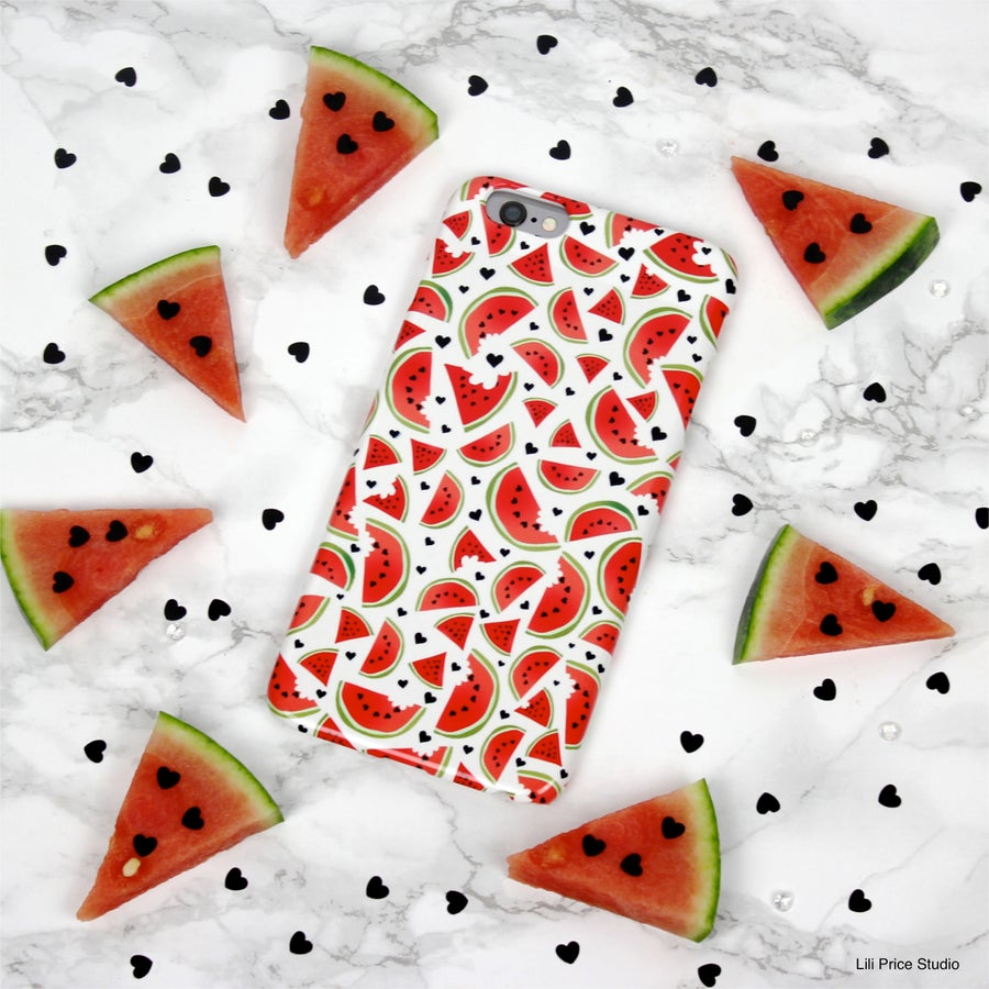 Image of Watermelon Love Phone Case