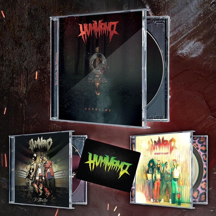 Image of Genocide Pack: 3 CDs + Magnet