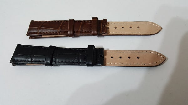 Image of GENUINE ROLEX LEATHER STRAP WITHOUT BUCKLE