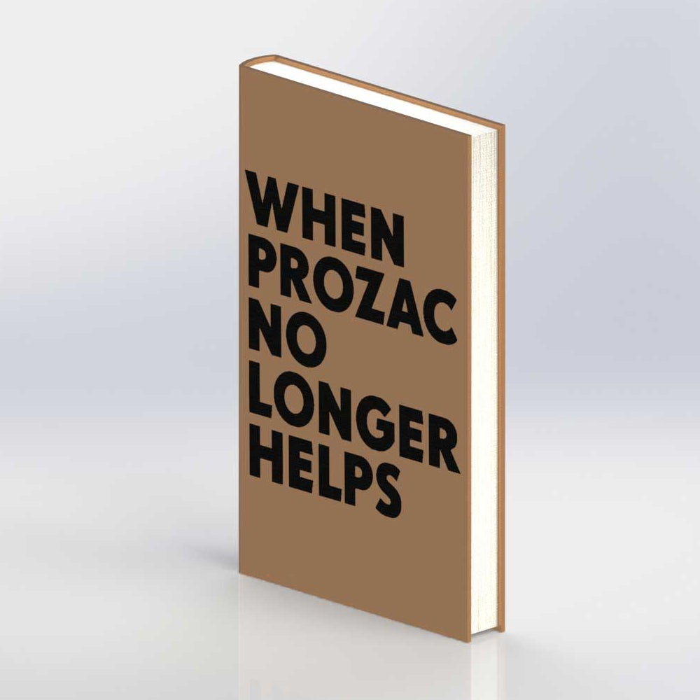 "Image of Niklas Kvarforth ""When Prozac No Longer Helps"" 4th Ed HARDCOVER"