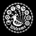 Welcome Hex Sticker Pack