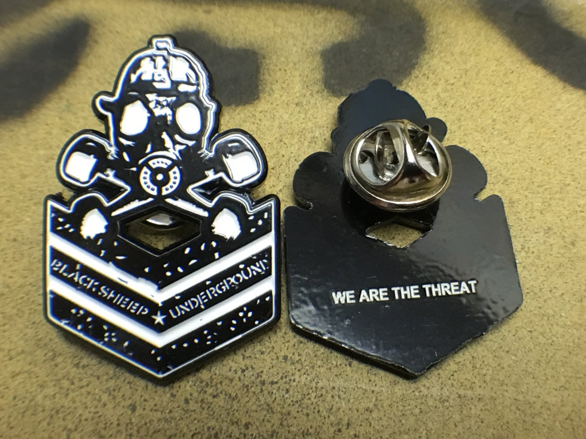 Image of BSU Threat Enamel Pin