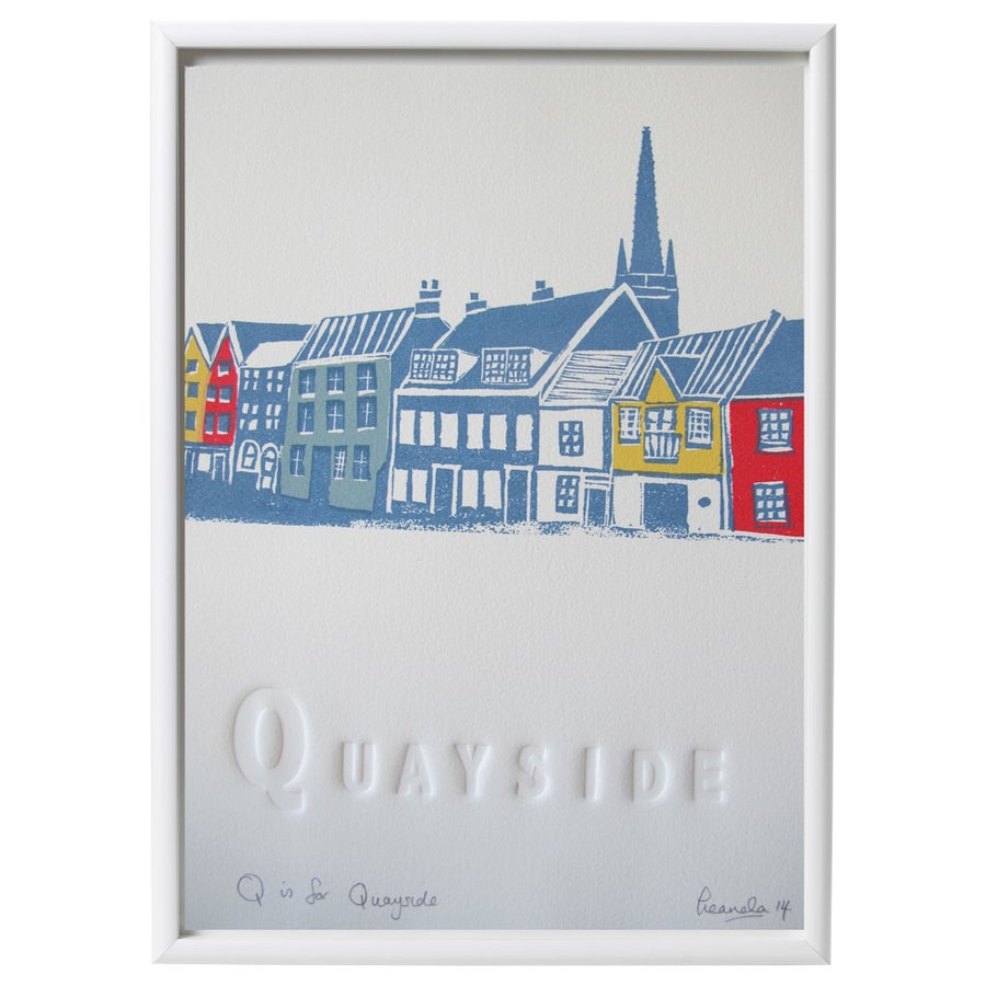 Image of Q is for Quayside