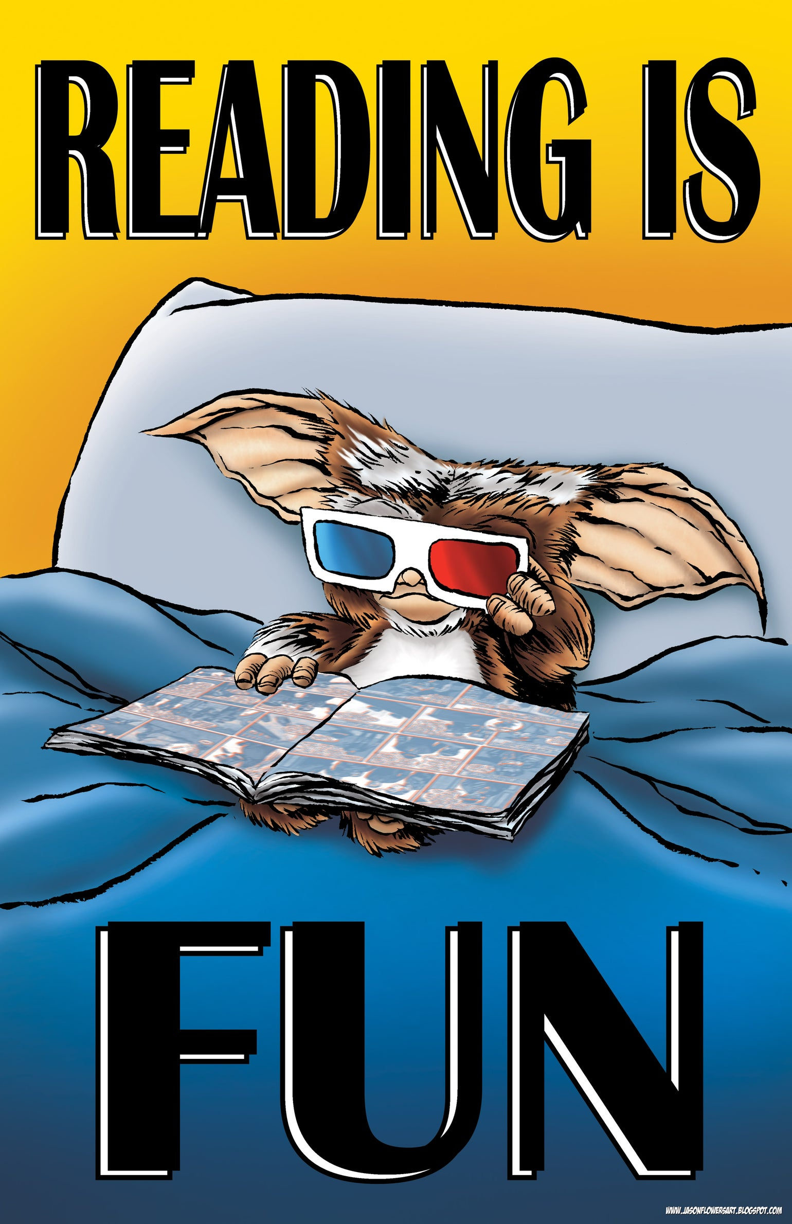 Image of READING IS FUN WITH GIZMO