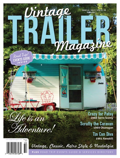 Image of Issue 32 Vintage Trailer Magazine