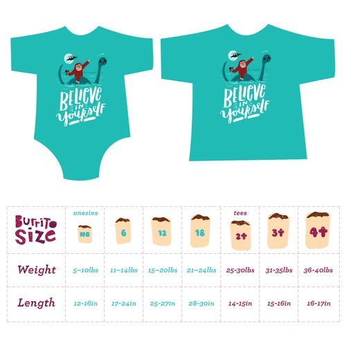 Image of Believe In Yourself! Toddler Tee/ Baby Bodysuit