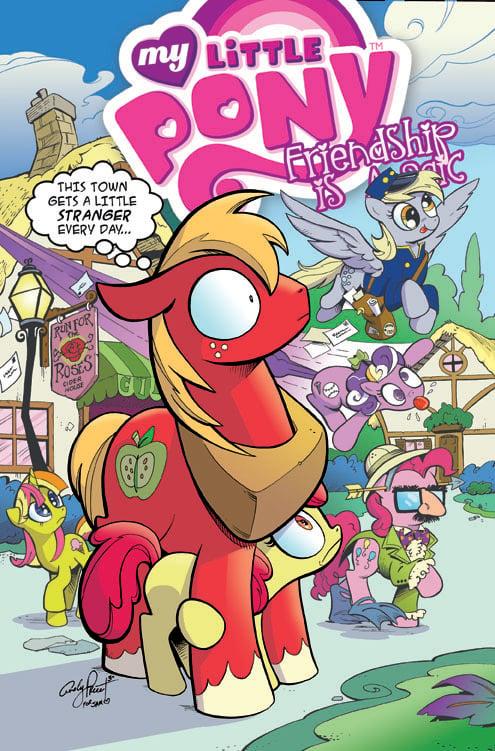 Big Macintosh in Ponyville - Open Edition Print