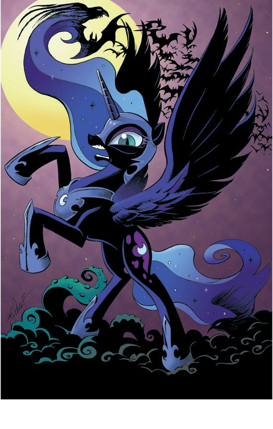 nightmare moon open edition print andy price art