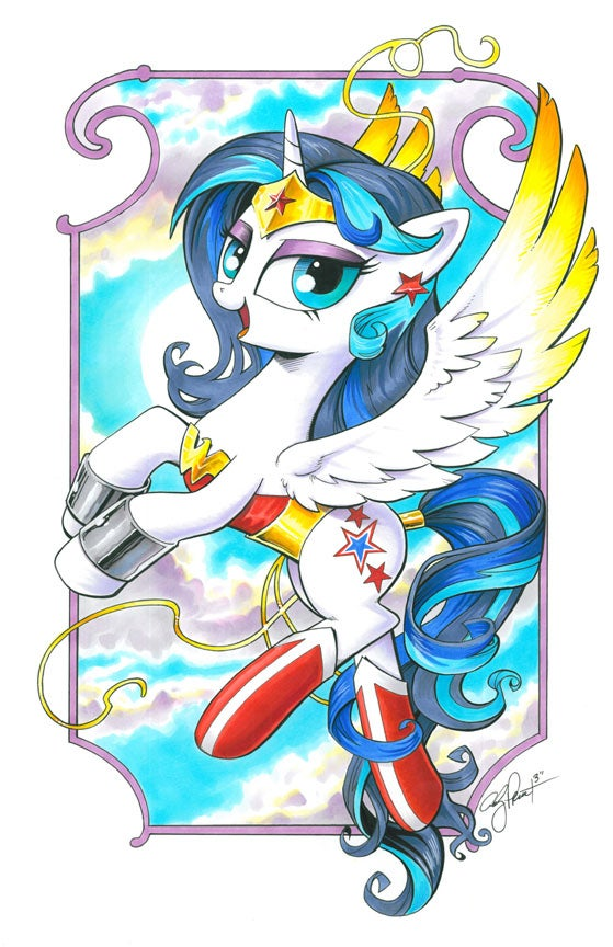 Image of Wonder Pony - Open Edition Print