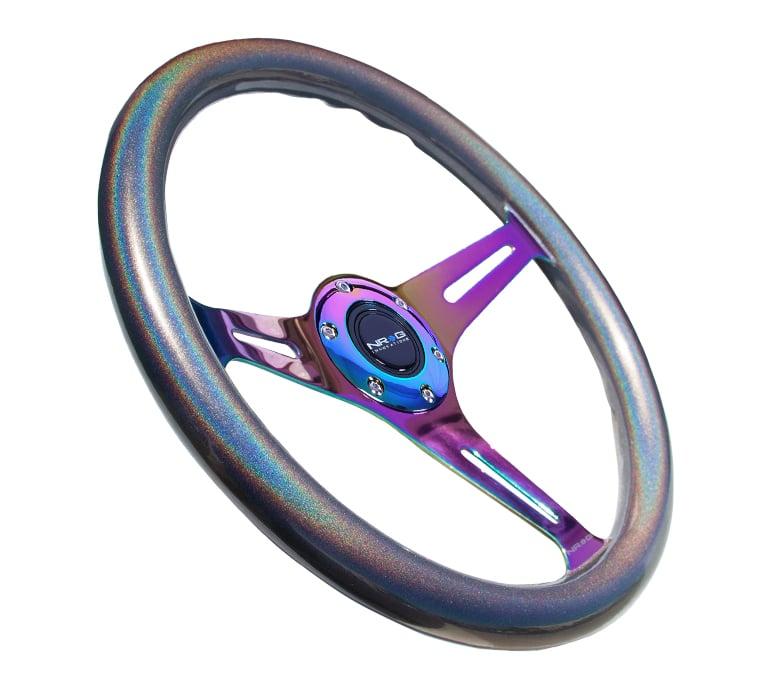 Image of Chameleon Wood Grain Steering Wheel