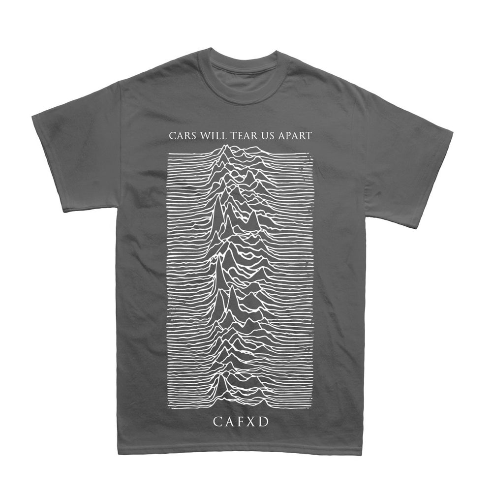 "Image of ""CARS WILL TEAR US APART"" T-Shirt Grey"