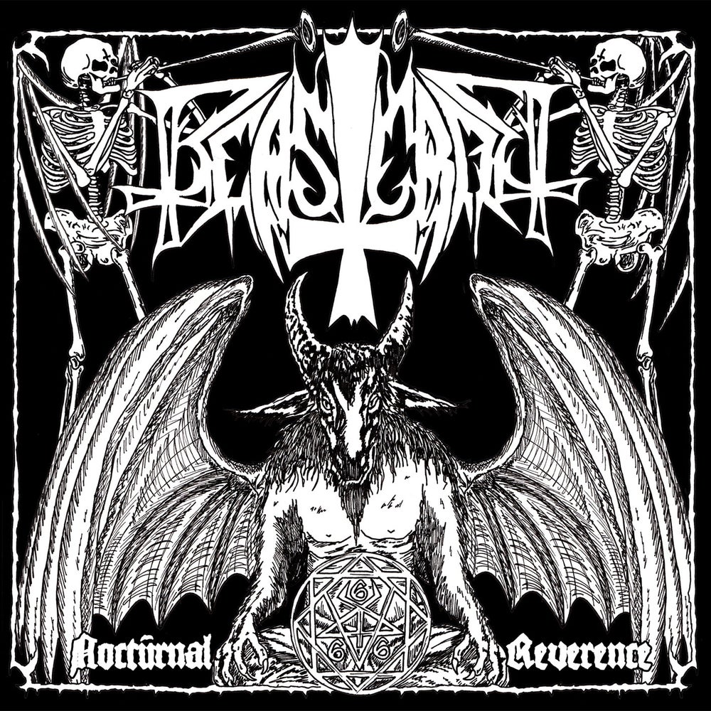 "Image of BEASTCRAFT ""Nocturnal Reverence"" 7"" EP"