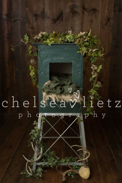 Image of Hunting Deer Blind Digital Backdrop