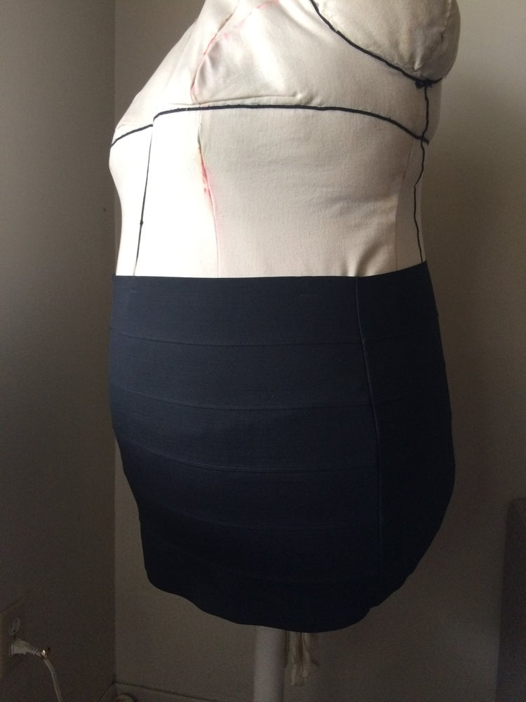 Image of Bandage Mini Skirt