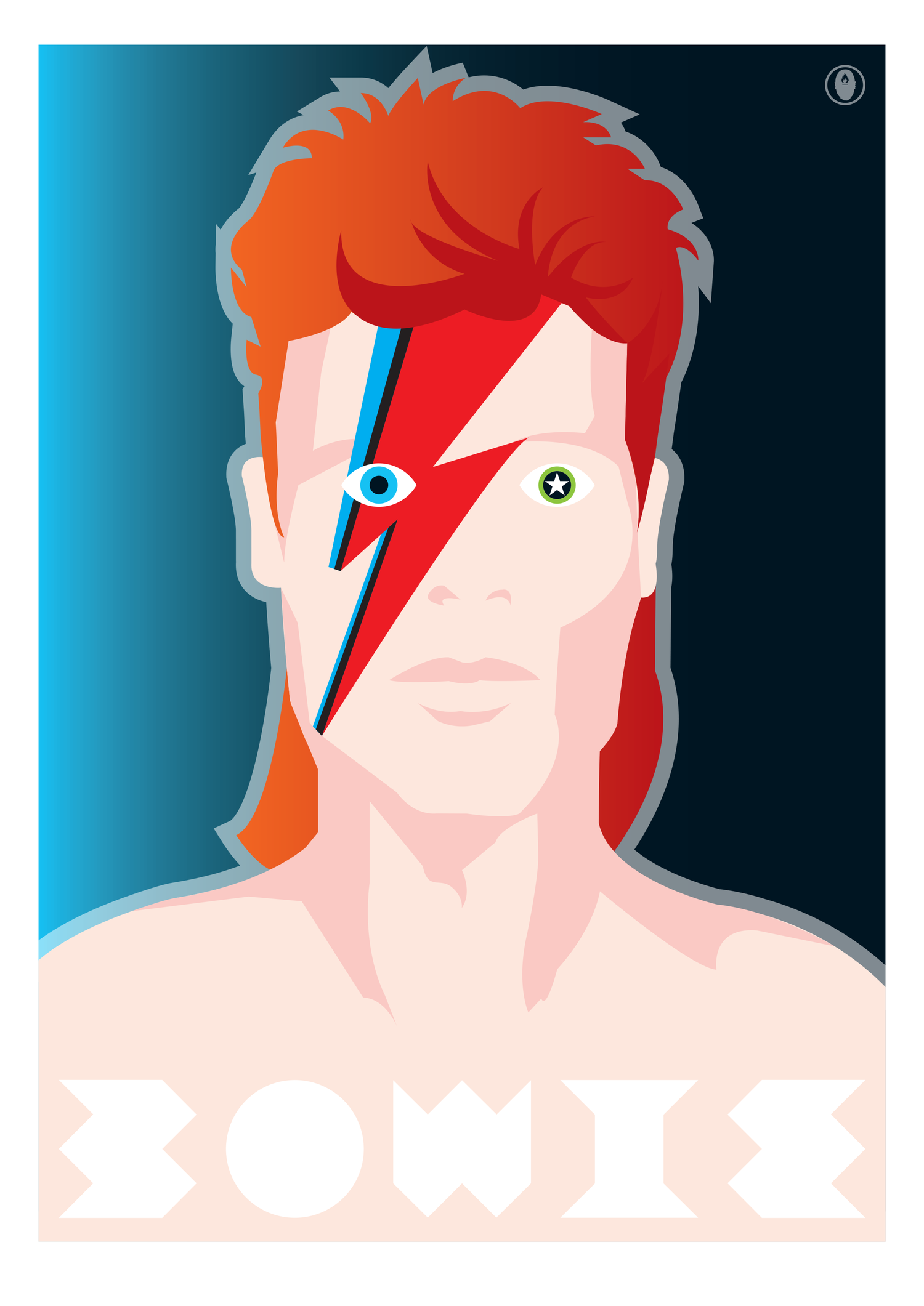 Image of BOWIE VISAGES