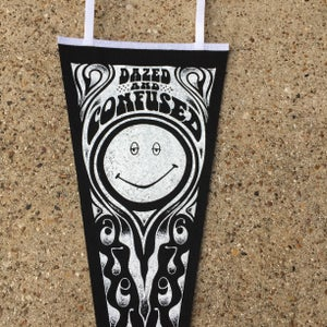 Image of Dazed and Confused Pennant Black